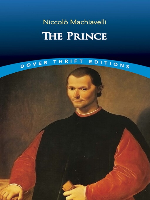 Title details for The Prince by Niccolò Machiavelli - Available