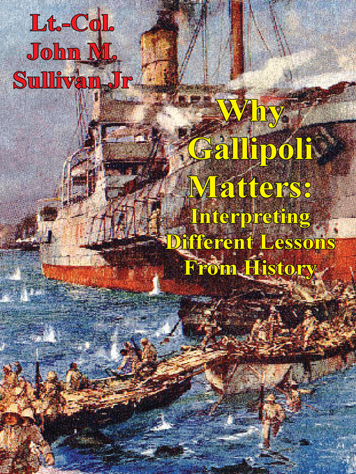 Cover of Why Gallipoli Matters