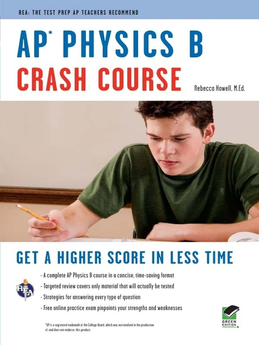 Title details for AP Physics B Crash Course by Rebecca Howell - Available