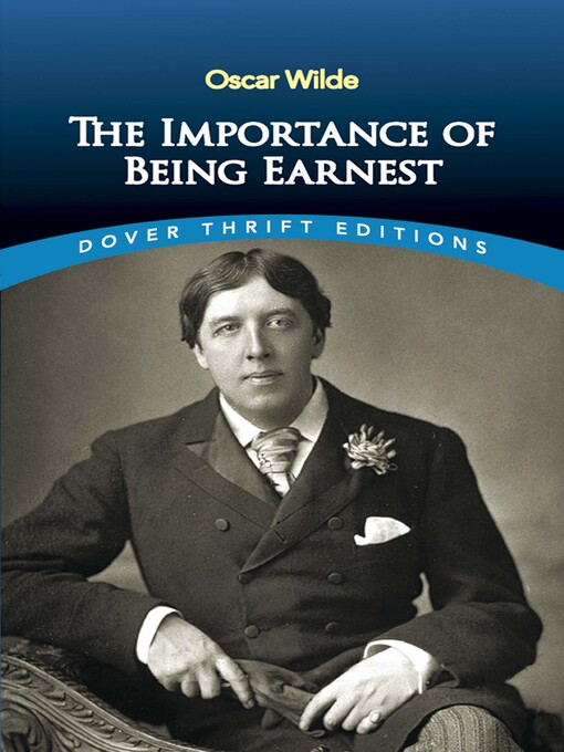 an analysis of the mask of manners in oscar wildes the importance of being earnest Welcome to the litcharts study guide on oscar wilde's the importance of being earnest created by the original team behind sparknotes, litcharts are the world's best literature guides a quick-reference summary: the importance of being earnest on a single page the importance of being earnest.