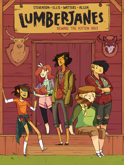 Cover of Lumberjanes (2014), Volume 1