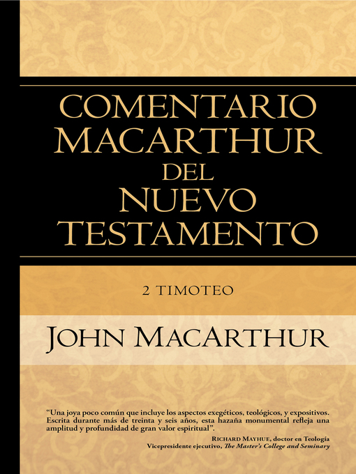 Title details for 2 Timoteo by John MacArthur - Available