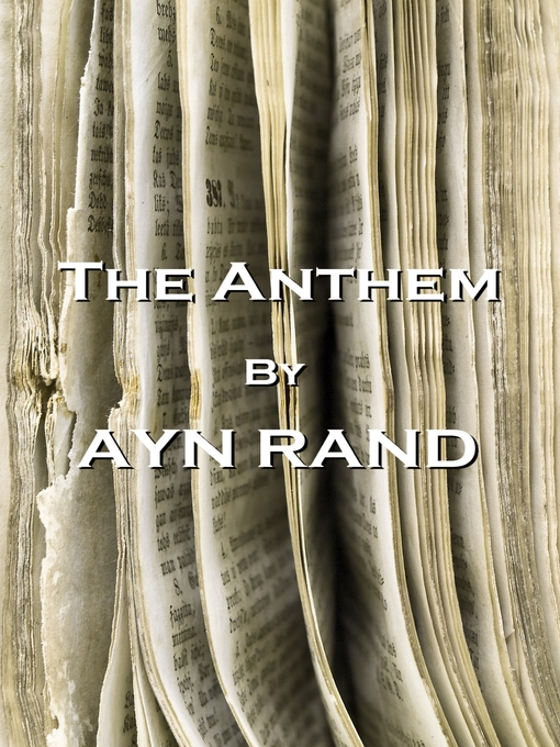 Cover image for The Anthem