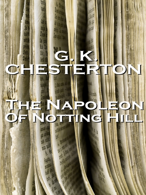 Cover of Napoleon of Notting Hill