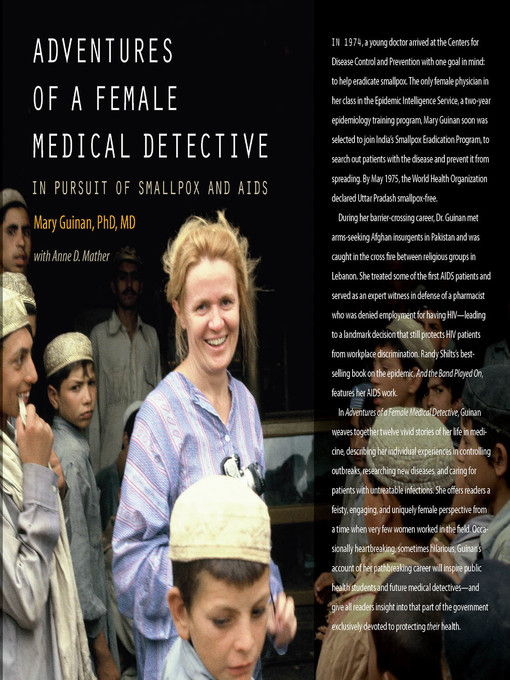 Title details for Adventures of a Female Medical Detective by Mary Guinan - Available
