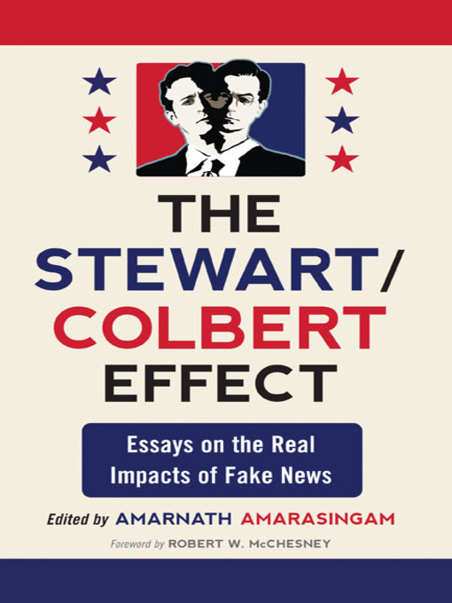 Title details for The Stewart/Colbert Effect by Amarnath Amarasingam - Wait list