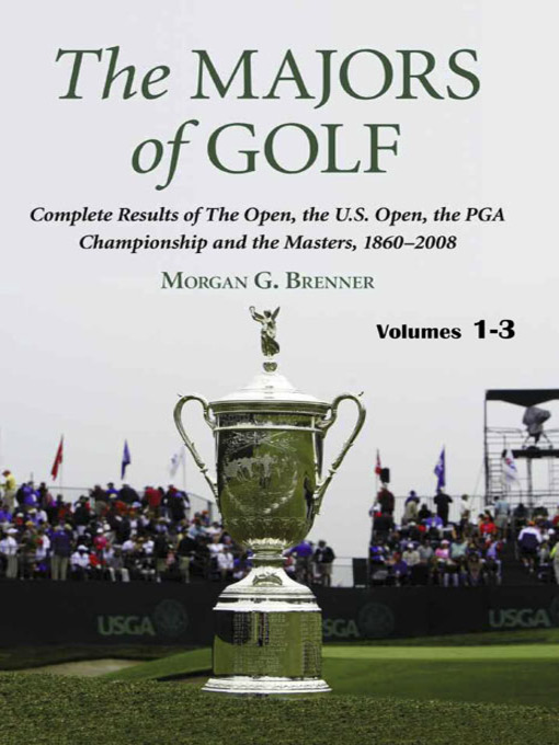 Title details for The Majors of Golf by Morgan G. Brenner - Available