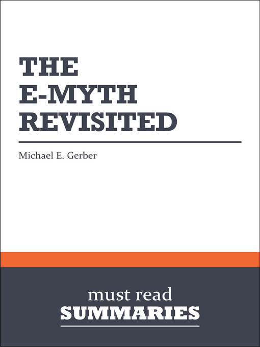 Title details for The E-Myth Revisited - Michael E. Gerber by Must Read Summaries - Wait list