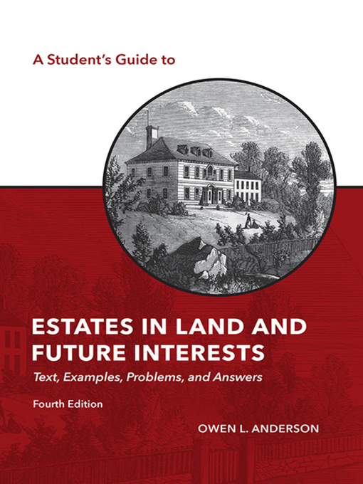 Cover by  A Student's Guide to Estates in Land and Future Interests