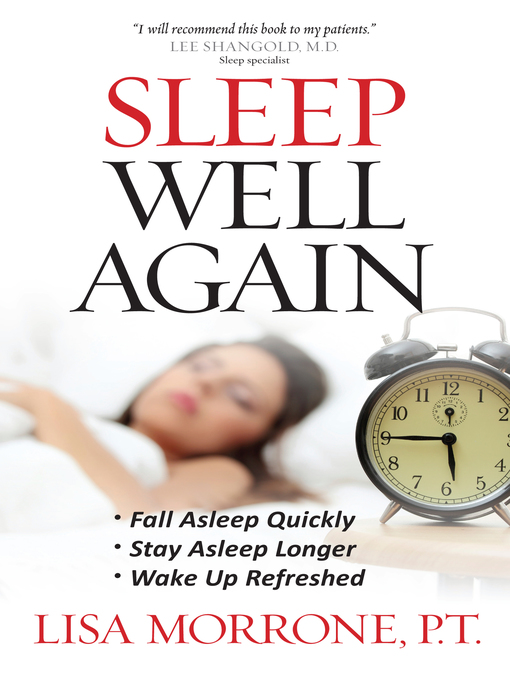 Title details for Sleep Well Again by Lisa Morrone - Available