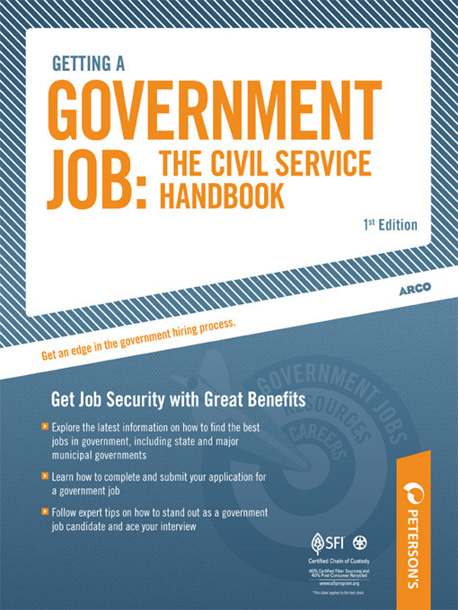 how to get a job with the government