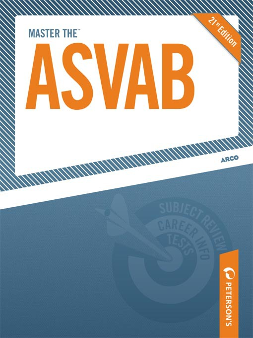 Title details for Master the ASVAB by Peterson's - Available
