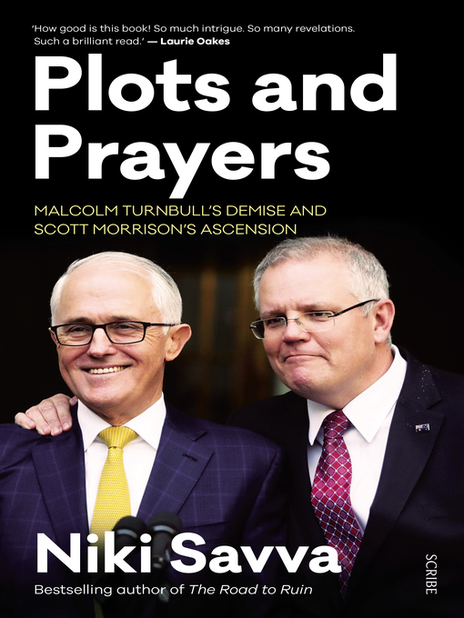 Title details for Plots and Prayers by Niki Savva - Wait list