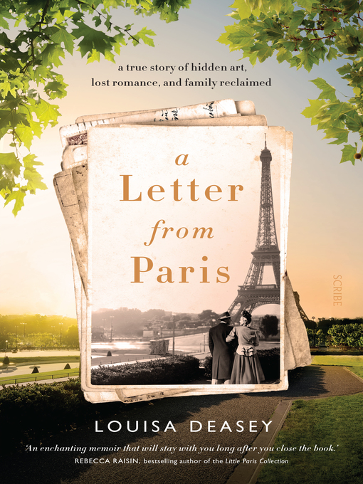 Title details for A Letter from Paris by Louisa Deasey - Wait list