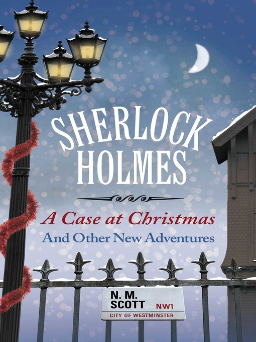 Cover image for A Case at Christmas and Other Adventures