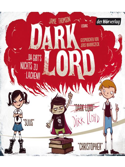 Dark Lord (1). Da gibts nichts zu lachen! (German Edition)