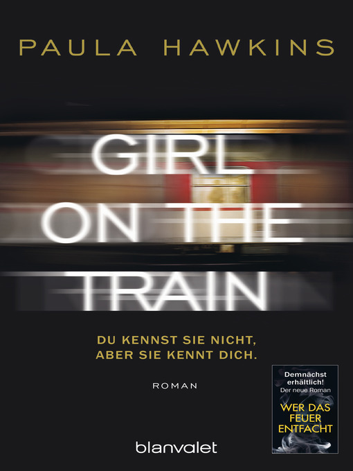Title details for Girl on the Train (German Language) by Paula Hawkins - Available