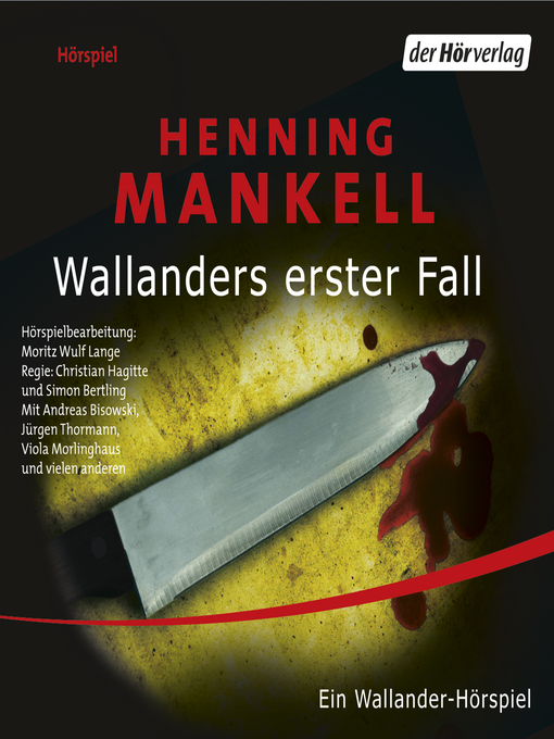 Title details for Wallanders erster Fall by Henning Mankell - Available