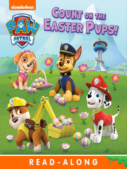 Title details for Count on the Easter Pups by Nickelodeon Publishing - Wait list