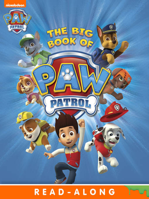 Cover of The Big Book of PAW Patrol