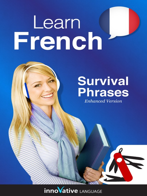 Title details for Learn French: Survival Phrases French by Innovative Language Learning, LLC - Wait list