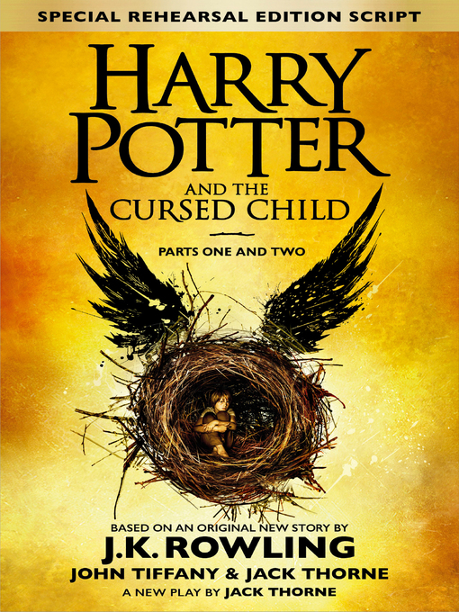 Harry Potter and the Cursed Child: Parts One and Two の表紙