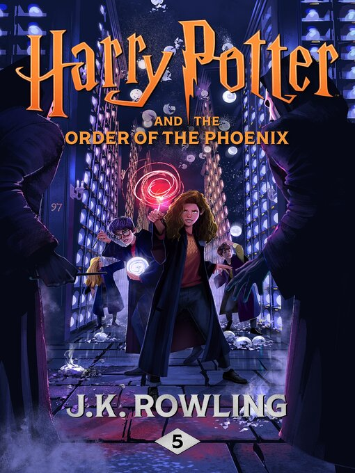 Harry Potter and the Order of the Phoenix の表紙