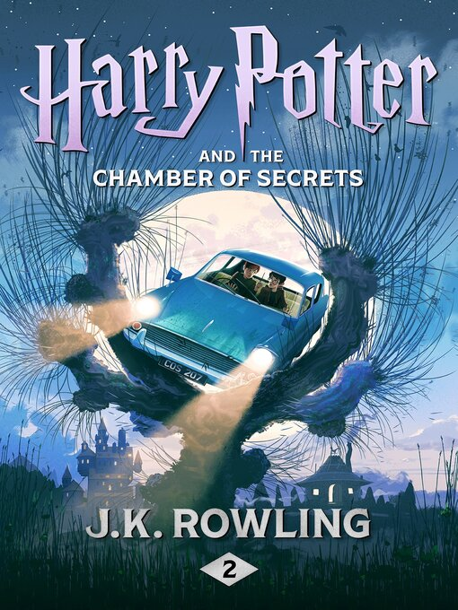 Harry Potter and the Chamber of Secrets の表紙
