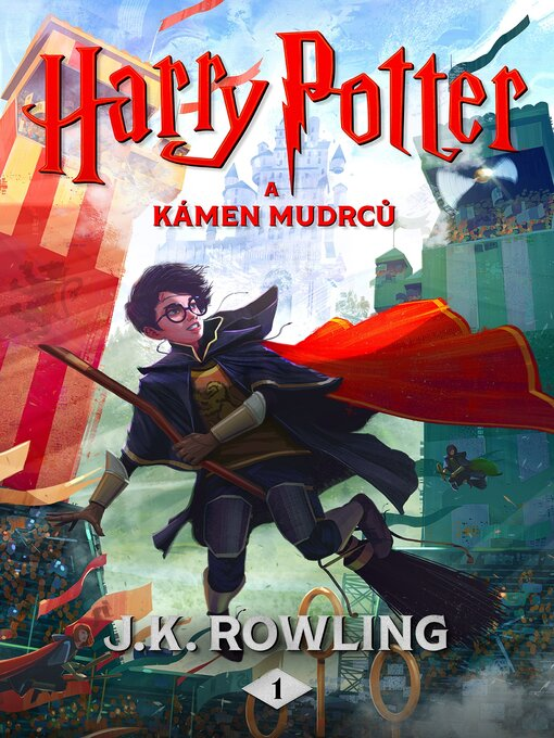 Cover of Harry Potter a Kámen mudrců
