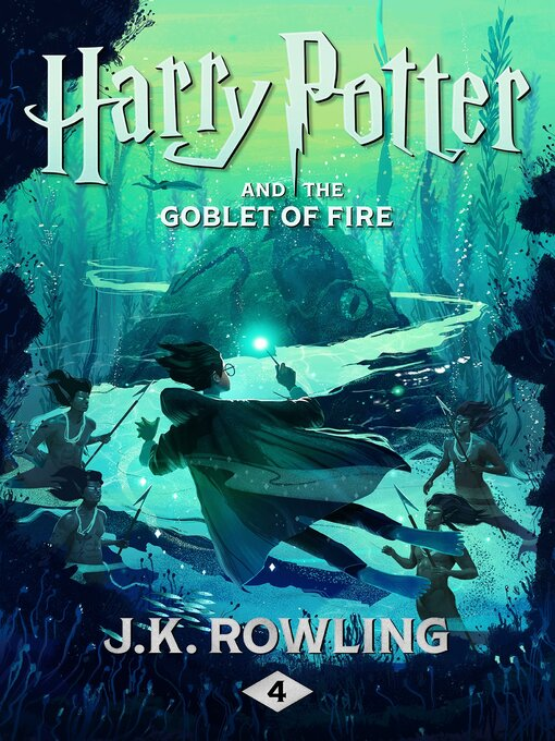Harry Potter and the Goblet of Fire の表紙