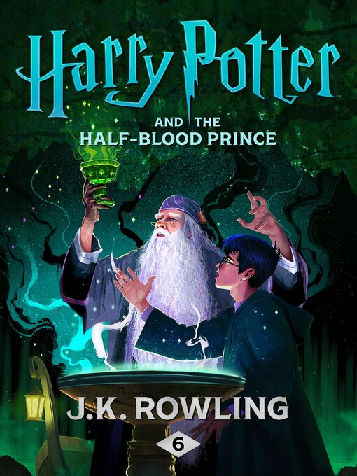 תמונת כריכה של Harry Potter and the Half-Blood Prince