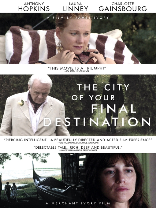 Title details for City of Your Final Destination by James Ivory - Available