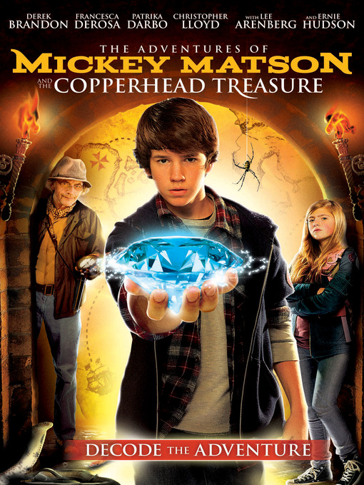Cover image for The Adventures of Mickey Matson and the Copperhead Treasure