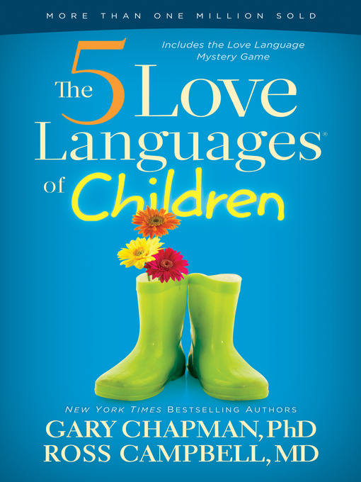 The 5 Love Languages Of Children Chapman Gary D 1938 Author