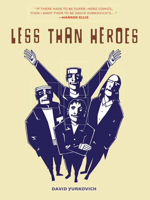 Title details for Less Than Heroes by David Yurkovich - Available