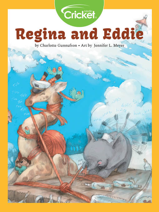 Title details for Regina and Eddie by Charlotte Gunnufson - Available