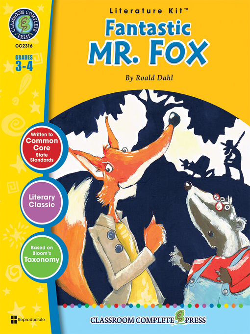 Fantastic Mr Fox Roald Dahl Los Angeles Public Library Overdrive