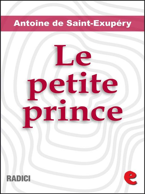 Cover of Le Petite Prince (Illustré)