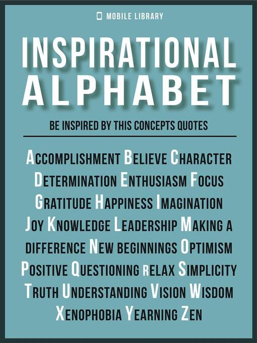 Inspirational AlphabetInspirational Quotes And Ideals OK Virtual Classy Library Quotes