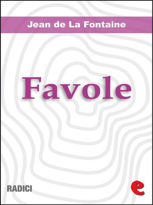 Cover of Favole