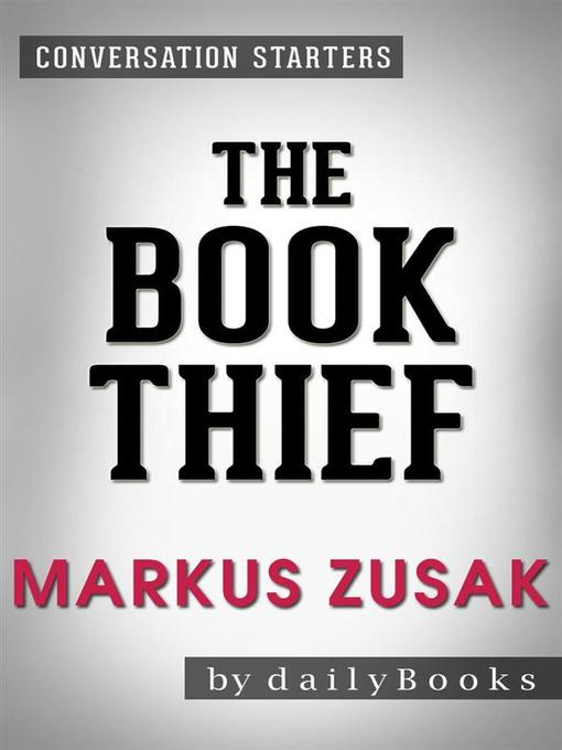 Cover of The Book Thief--A Novel by Markus Zusak