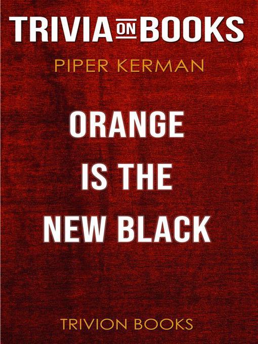 Piper Kerman Epub
