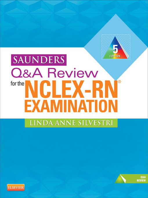 Saunders Qa Review For The Nclex Rn Examination Toronto Public