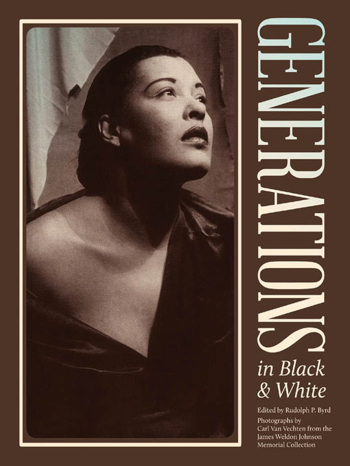 Title details for Generations in Black and White by Carl Van Vechten - Available