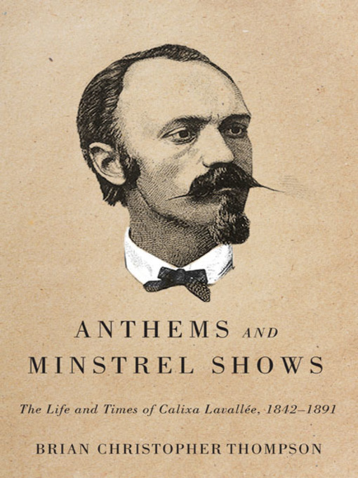 Cover of Anthems and Minstrel Shows