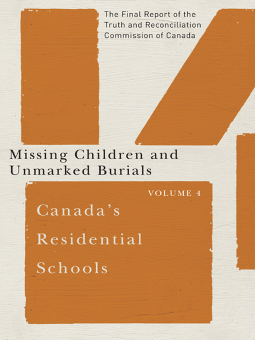 Title details for Canada's Residential Schools by Truth and Reconciliation Commission of Canada - Wait list