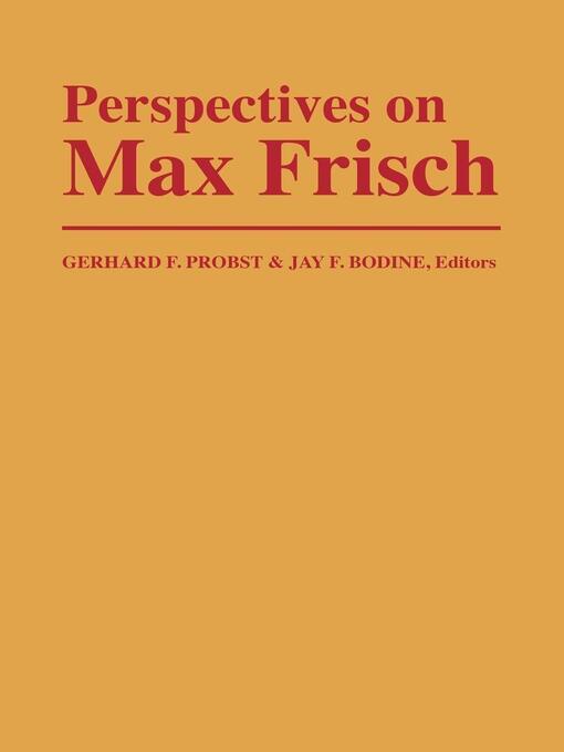 Max Frisch Stiller Ebook