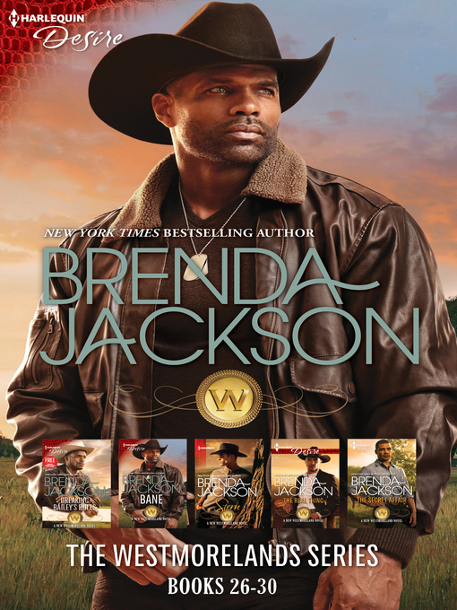 Title details for The Westmorelands Series Books 26-30--5 Book Box Set by Brenda Jackson - Available