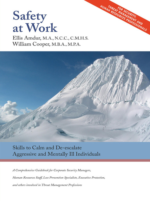 Title details for Safety at Work by Ellis Amdur - Available