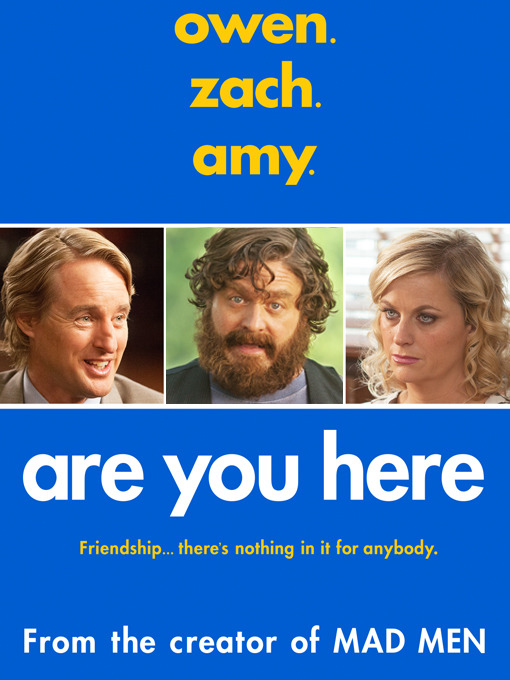 Title details for Are You Here by Matthew Weiner - Available